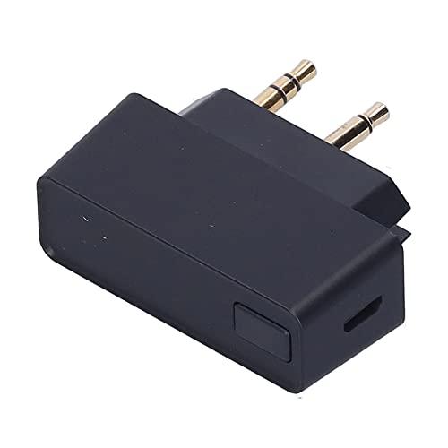 Draadloze radio-ontvanger, praktische -adapter Handig stabiel met opvouwbare 3,5 mm-stekker om van films te genieten en van muziek te genieten