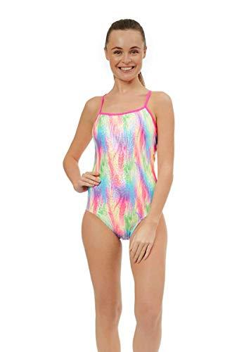 MARU Tutti Fruitti Ecotech Damen-Badeanzug mit Raffhaltern, mehrfarbig (32)