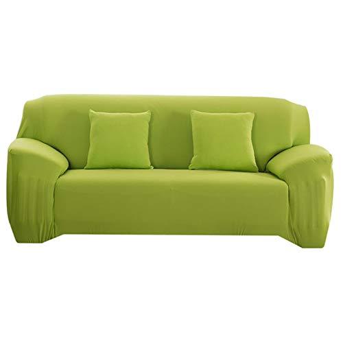 GoGOO Cubierta de sofá de Elasticidad Cubierta de sofá Extensible Cubiertas Sofá Cubiertas de Color sólido seccional Solo/Dos/Tres/FURES Asientos L Forma Necesita Comprar 2 UNIDS