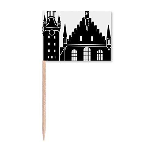 Deutschland Kölner Dom Wahrzeichen Zahnstocher Flaggen Marker Topper Party Dekoration