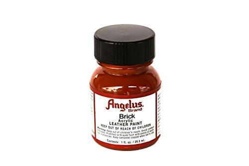 Angelus Acrylic Leather Paint - 1 Ounce, Brick