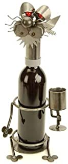 Drinking Cat Wine Holder Yardbirds by Richard Kolb