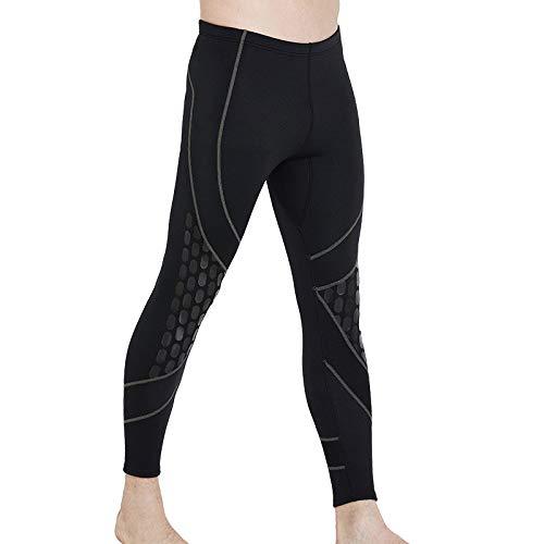QSFDM duikpak 1,5 mm neopreen heren zwembroek duiken roeien zeilen zwemmen surfen warme broek leggings neopreen pakken