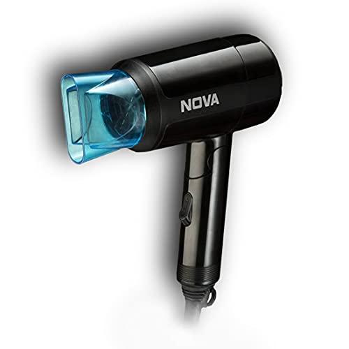 Nova NHP 8105 1200 Watts Hot & Cold Foldable Hair Dryer for Women
