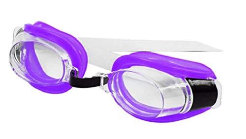 Inception Pro Infinite Occhiali da Nuoto per Adulti E Bambini con Tappi per Naso E Orecchie - Viola