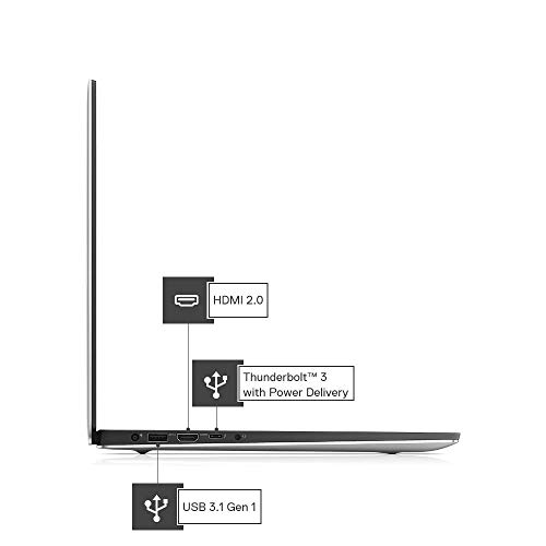Dell XPS 7590 15.6-inch 4K UHD Laptop (9th Gen i7-9750H/16GB/1TB SSD/Win 10 + MS Office/Integrated Graphics/Silver) D560021WIN9S