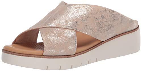 CC Corso Como Women's BILANKA Sandal, Platinum, 7 M US