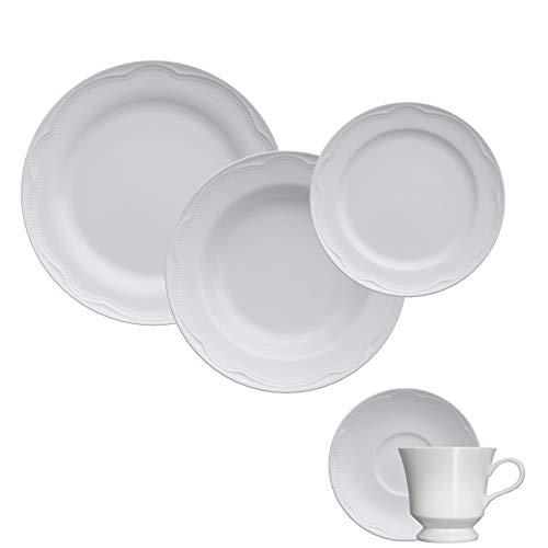 Jogo Jantar/Chá 30 Peças - Cottage Germer Branco