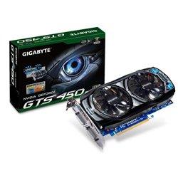 GIGABYTE ビデオカード nVIDIA GeForce GTS450 1GB OC PCI-E DVI mini-HDMI オリジナル80mmFAN UltraDurableVGA CopperCore GV-N450OC-1GI