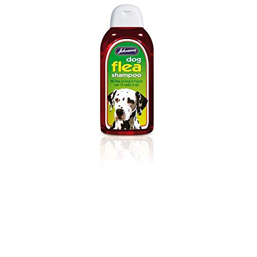 Johnsons Dog Flea Shampoo 400 ml