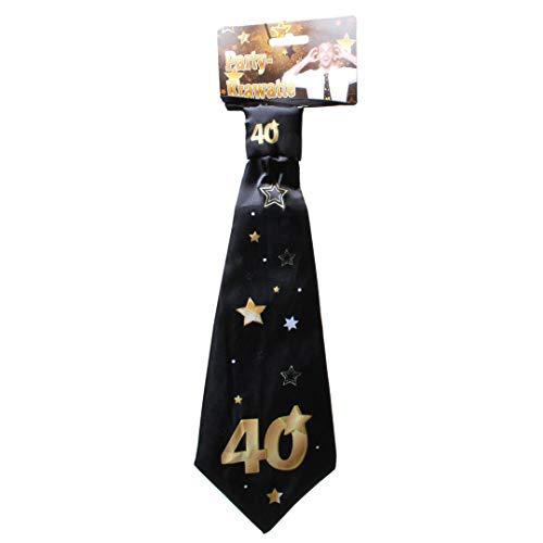 Udo Schmidt GmbH & Co Party-Krawatte mit Einer großen 40