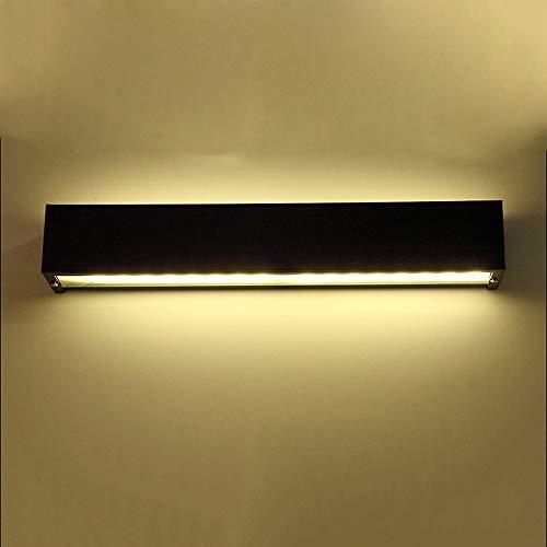 KMYX - Lámpara de mesa de noche con espejo nórdico impermeable, diseño moderno, para cuarto de baño, dormitorio, dressing, mesa de espejo, lámpara LED