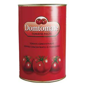 Domtomate - Pasta de Tomate - Concentrado de Tomate - Producto Asiático - 400 Gramos