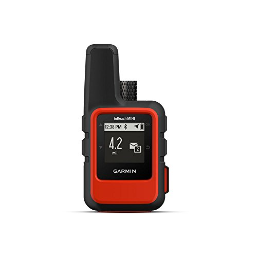 Garmin 010-01879-00 InReach Mini, Lightweight and Compact Satellite Communicator, Orange