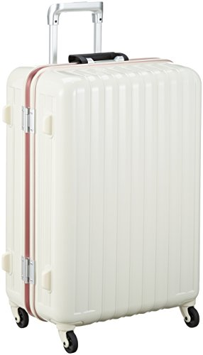 [バウンドリップ] スーツケース グッドサイズ 大容量 軽量素材 ブレーキ機能 BD55 保証付 70L 68 cm 4.3kg アイボリー