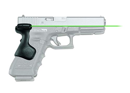 Crimson Trace LG-637G Lasergrips with Green Laser, Heavy Duty Construction and Instinctive Activation for GLOCK Full-Size Pistols, Defensive Shooting and Competition