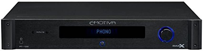 Emotiva Audio BasX PT-100 stereo preamp/DAC/tuner,black