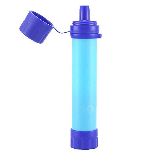 Lixada Filtro de Agua Portátil Sistema de Filtración de Agua Mini para Emergencia Supervivencia Acampada Viaje Mochilero 1/2pcs 1500L
