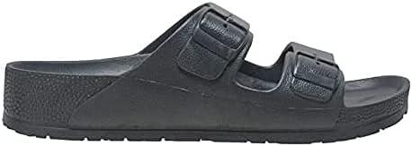Rocsoc Tecs Two Strap PVC Summer Sandals For Men, Blister Resistant, Eco Friendly, UV Protected Open Toe Versatile Grippy Slippers