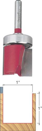 Freud 1' (Dia.) Top Bearing Flush Trim Bit with 1/2' Shank (50-112)