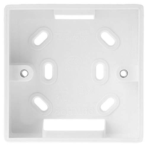 Xiaoyao24 - Caja de conexiones para termostato (86 x 86 mm)