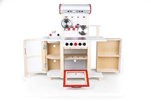 Hape E8018 – Küchentraum, Kinderküche inklusive Zubehör – Spielküche aus Holz - 3