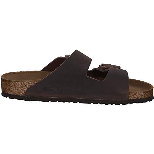 Birkenstock Arizona Oiled Leather Habana Unisex Sandals (US W 8.0 / M 6.0)