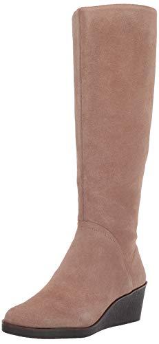 Aerosoles Women's Binocular Knee High Boot, tan Suede, 7 M US