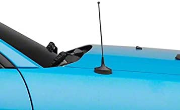 SpeedForm 8 Inch Fixed Antenna - Black - for Mustang 1979-2009