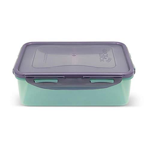 Lock & Lock Boîte de Conservation Alimentaire écologique, sans BPA, Passe au Lave-Vaisselle et au congélateur, Multicolore, 1 l