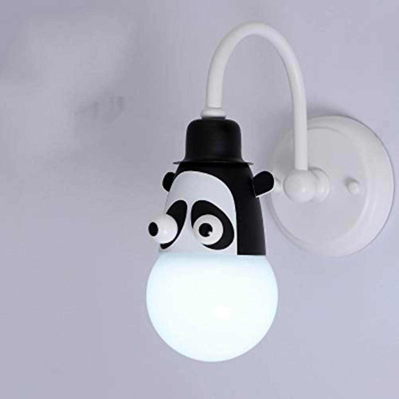 NIAI Kreative LED Sterne Licht Tropische Schreibtischlampe Festzelt Panda Licht Batteriebetriebene Wand Dekor Schlafzimmer Nachtlicht (Farbe   Weies Licht)