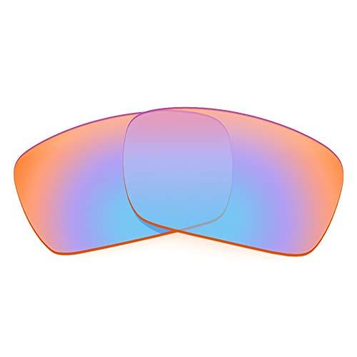 Revant Ersatzgläser für Oakley Fuel Cell, Nicht Polarisiert, Elite Tracer Orange MirrorShield