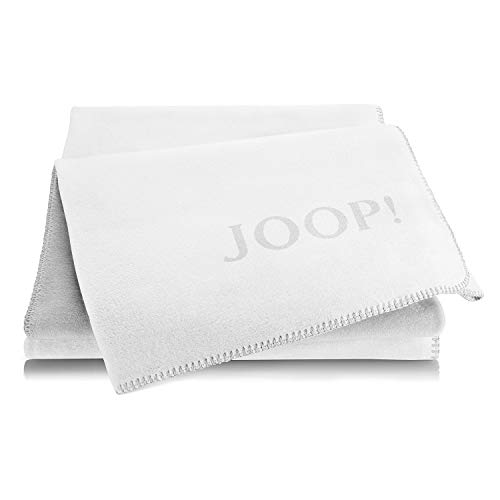 Joop! Wohndecke Uni-Doubleface Baumwollmischung Natur Größe 150x200 cm