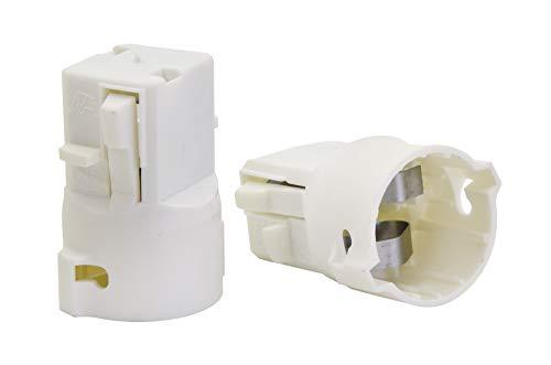 /à /économie d/énergie Newkeen 8pcs Adaptateur base de lampe converter E14 douille /à E27 base de la lampe pour lampes /à LED halog/ène