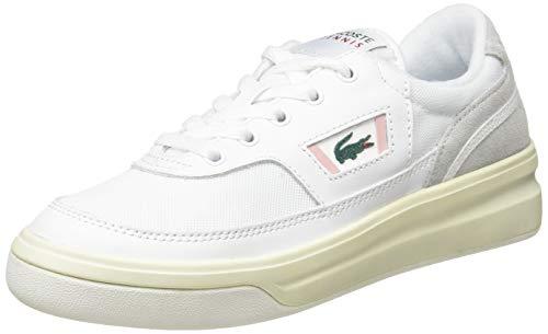 Lacoste Damen G80 0120 1 SFA Sneaker, Weiß Wht Lt Pnk, 42 EU