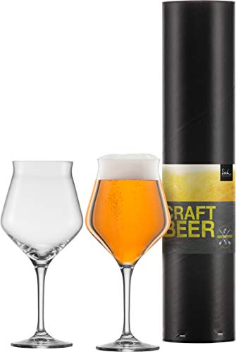 Eisch 2 Biergläser in Geschenkröhre - Craft Beer Experts,