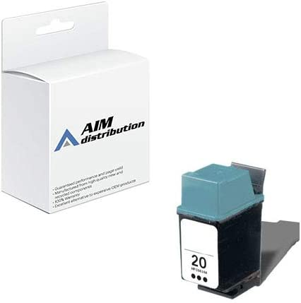 AIM Compatible Replacement for HP NO. 20 Black Inkjet (500 Page Yield) (C6614AN) - Generic