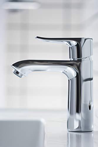 Hansgrohe – Einhebel-Waschtischmischer, Ablaufgarnitur, ComfortZone 110, Chrom, Serie Metris - 2