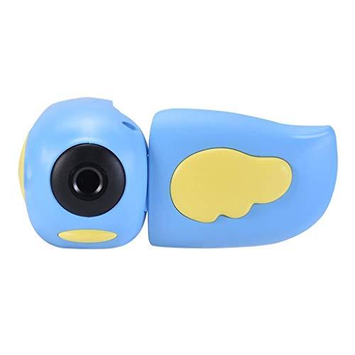 Cámara Linda de los niños 2.0 '' IPS Pantalla LCD 720P Niños bebé cámara Digital DV Juguete (Color : Blue)