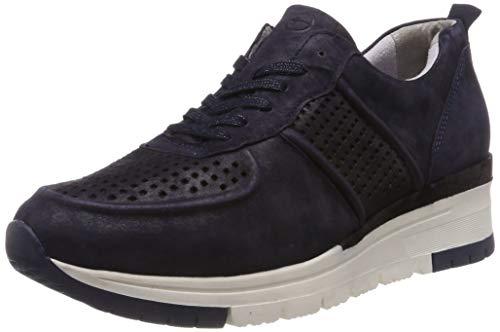 Tamaris Damen 1-1-23745-22 824 Sneaker Blau (NAVY METALLIC 824), 38 EU