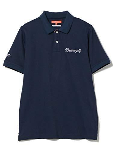 (ビームスゴルフ)BEAMS GOLF/ポロシャツ ORANGE LABEL エリ裏 フラワー柄 ポロシャツ メンズ NAVY S