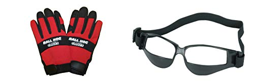Purchase Ball Hog Gloves Basketball Dribble Dribbling Specs Goggles Glasses Training AID (M)