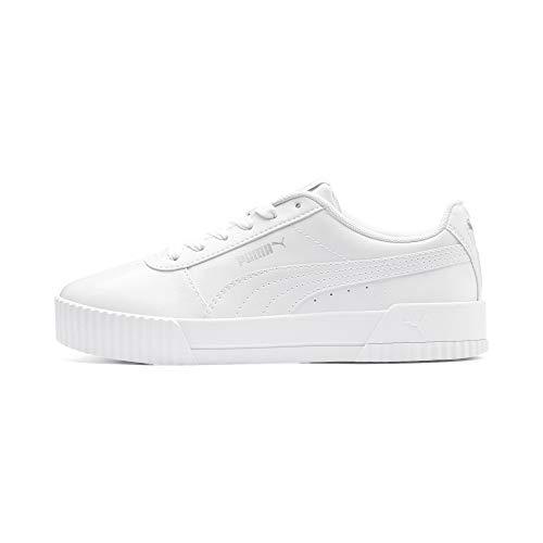 Puma Damen Carina P Sneaker, Weiß (Puma White-Puma White 02), 39 EU