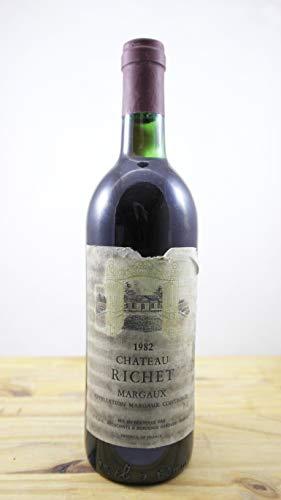 Vino Annata 1982 Château Richet ES Bottiglia