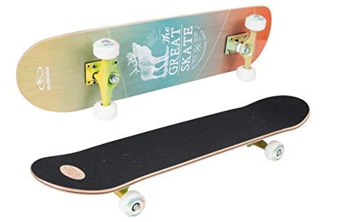 Hudora GmbH Skateboard, Multicolore, M