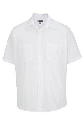 Edwards Ropa de Hombre Grande y Alto Rendimiento paño. Camisa de Trabajo - 1110, Blanco