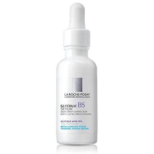 La Roche-Posay Glycolic B5 Dark Spot Corrector, 10% Glycolic Acid Serum & Anti Aging Serum Concentrate to Brighten, Smooth & Exfoliate, Suitable for Sensitive Skin