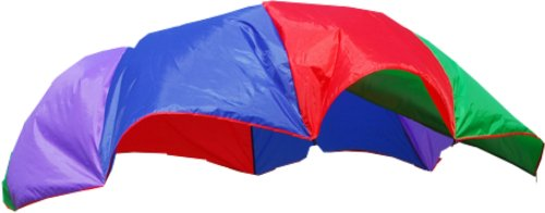GigaTent Kids 10 Foot Play Parachute Rainbow Parachute Toy Tent for Children Gymnastic