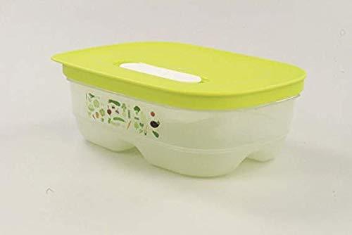 Tupperware® Klima-Oase 800 ml Frische-Behälter Prima-Klima Kühlschrank-Box A180 grün