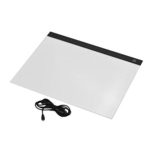 Tekening Kopieerbord A3 Grote Lichtbak Led Artcraft Tracing Light Pad Traploos Dimmen Oogbeschermende Pad Voor Diamond Painting Drawing